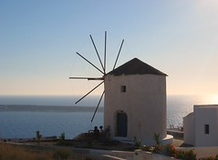 two under the windmill ( cris  (searching for testimonials :)) Tags: sea summer vacation two windmill landscape couple holidays mare village estate view panoramic santorini ia verano greatshot soe oia paesaggio vacanze thira mulino scorcio panoramico villaggio pittoresco totalphoto pictoresque flickraward theunforgettablepictures eliteimages theperfectphotographer goldstaraward thebestofday flickrlovers artedellafoto jediphotographer