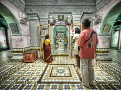 Waiting for a Blessing (Stuck in Customs) Tags: panorama art colors lines modern composition work photography intense nikon soft shoot artist vishnu photographer shot angle image unique background indian details small rich perspective picture scene adventure blessing holy indoors edge malaysia processing pro balance framing capture exploration hindu mapping tones scents hdr malacca malaka treatment highquality stuckincustoms garnment treyratcliff