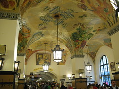 Inside the Hofbrauhaus