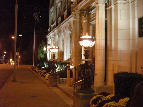 kc building at night
