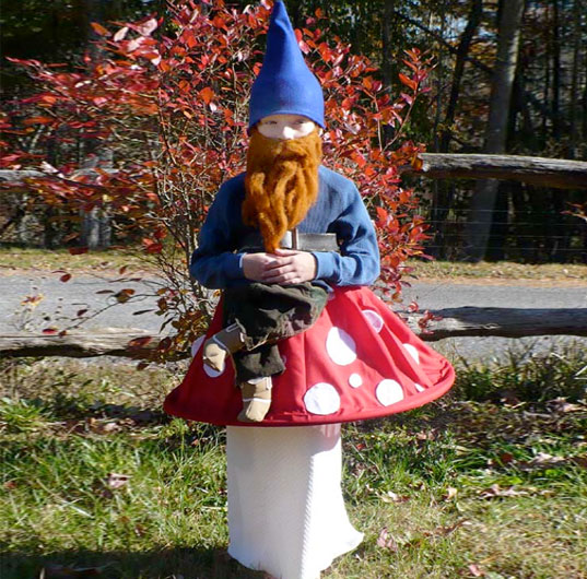 Garden Gnome Kid