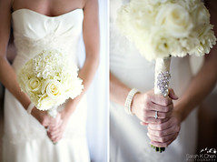 bouquet (sarahkchen) Tags: wedding newportbeach christine rob marriothotel sarahkchenphotography