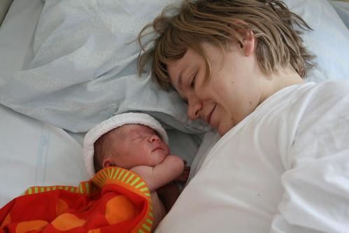 Ava och mamma
