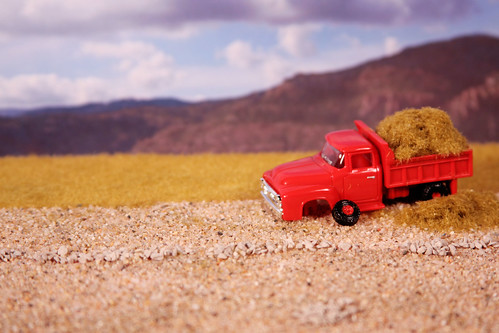 Little Red Hay Truck [Homework] [255/365]