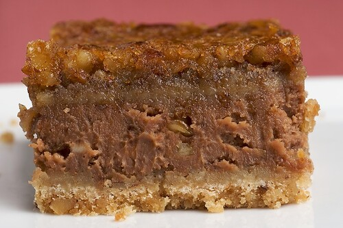 Chocolate Pecan Cheesecake Bars | Bake or Break