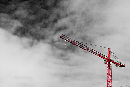 The Loneliness Of a Tower Crane Driver