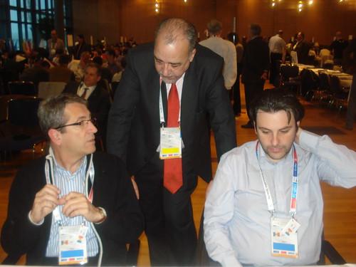 Raül García, Francesc Rechi i Oscar de la Riva