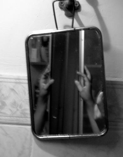 Main en miroir