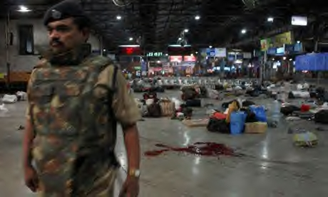 after the terror attack at mumbai railway station