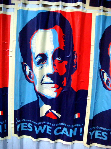 sarkozy yes we can posters