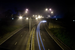 Richmond Hill Overpass (Daniel Hodson) Tags: uk england motion dan fog night canon dark 350d long exposure flickr traffic unitedkingdom daniel aib tripod wideangle peter dorset canon350d vehicle canoneos350d bournemouth richmondhill freelance hodson visualcommunication thatsclassy hoddo artsinstitutebournemouth danielpeterhodson danielhodson theartsinstitutebournemouth dhodson wwwdanielhodsoncouk httpwwwdanielhodsoncouk