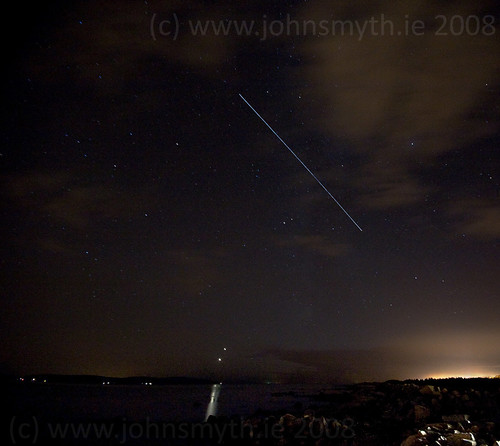Space Station flies over Galway Bay