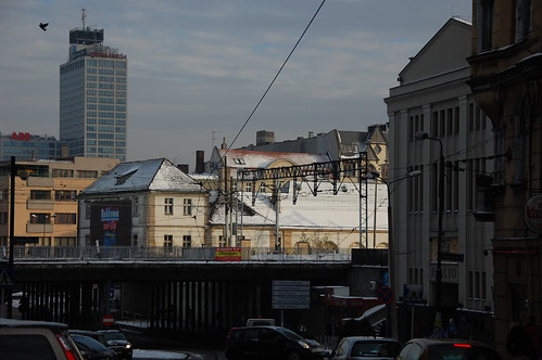 Katowice, view from Hotel Polonia