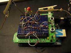 ArduinOscillator, prototype 2