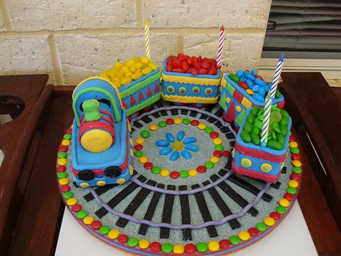 Train Birthday Cakes For Kids. 4th irthday cake train