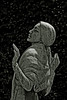 sculpture (Leo Reynolds) Tags: leol30random cemetery cemeteryneuillyseine photoshop bw canon eos 40d 0006sec f67 iso100 105mm 1ev duotone groupblackwhite groupsepiabw xleol30x hpexif xratio2x3x grouppariscemeteries xx2008xx