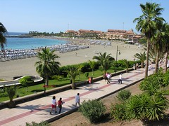 Los Cristianos is one of the biggest tourist centres in Tenerife