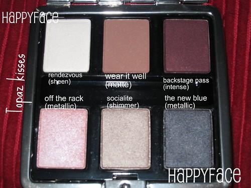 Lancome Topaz kisses palette