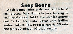 Side - Snap Beans Mrs Johnny Killingsworth (Eudaemonius) Tags: old vintage recipe beans side snap johnny recipes mrs killingsworth clipped eudaemonius bluemarblebountycom 20081211
