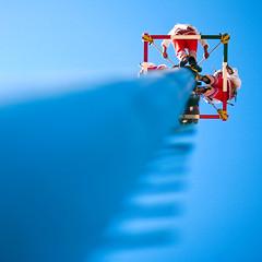 Closer to Heaven (Luis Montemayor) Tags: blue sky azul mexico cielo cholula puebla voladores voladoresdepapantla dflickr dflickr141208