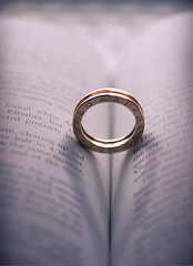 (heartbreaker [London]) Tags: light shadow love circle gold book heart low ring explore shape bvlgari