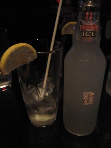 Smirnoff Ice at Club Soda - $8 with tip