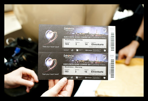 Tickets for the Eurovision Song Contest 2011 final