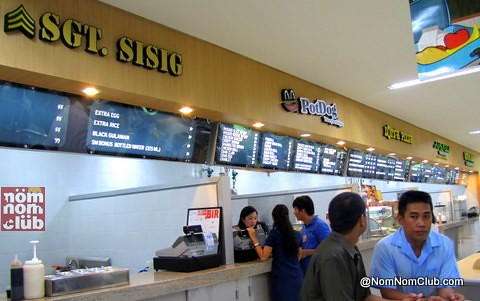 A New Cleaner Look for SM Supermarket Food Stalls
