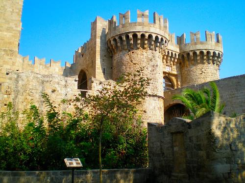 Medieval town - Rhodes island, Greece