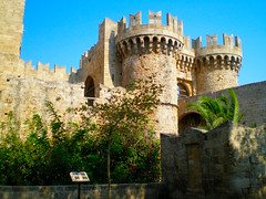 Medieval town - Rhodes island, Greece (pantherinia_hd Anna A.) Tags: travel vacation building castle colors stone architecture island gate mediterranean fort aegean hellas medieval delicious greece era knight destination fortifications rodos rhodes middleages rodi breathtaking rhodos  supershot  5photosaday    totalawesomeness  superbmasterpiece diamondclassphotographer flickrdiamond amazingamateur coolestphotographers theperfectphotographer eyeofthephotographer     mygearandmepremium