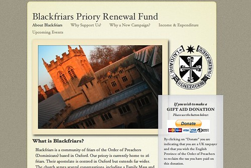 Blackfriars Priory Renewal Fund