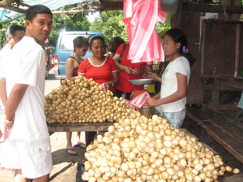 fruit lanzones roadside stall philippines pinoy vendor boracay