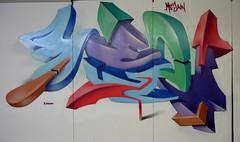 Kezam (In a studio...) (kezam) Tags: studio graffiti 3d mural paint ak spray aerosol tst dwb ptc legalgraffiti eyegasm kezam 3dgraffiti flickrgraffiti graffitiflickr graffitiporn graffgasm