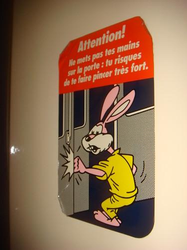 Warning Bunny