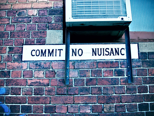 Commit No Nuisance (with Lomo effect)