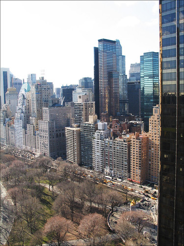 View from Central Park West