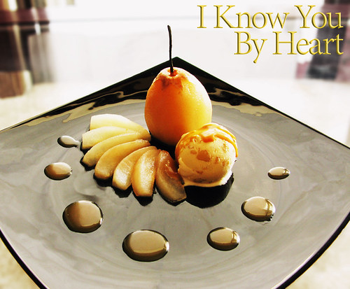 Maple, Salted Butter Caramel, and Pear Belle Hélène (with title)