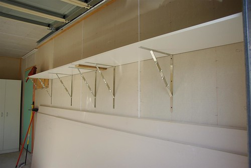 Garage Shelf Solution