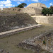 Sport court in Monte Alban Mexico