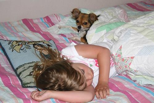 Cassie and Julie - Night Night