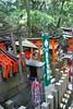 Offering Origami Birds  At Fushimi Inari