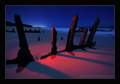 Under Shifting Sand (Garry - www.visionandimagination.com) Tags: ocean nightphotography seascape lightpainting art 20d beach water night canon stars landscape sand rust surf nocturnal pacific oz canon20d australia eerie fullmoon pacificocean almostwinter wreck aus corrosion sunshinecoast caloundra ssdicky themoulinrouge efs1022mm naturesfinest blueribbonwinner supershot dickybeach flickrsbest kartpostal fineartphotos perfectangle anawesomeshot flickrplatinum ysplix bestofaustralia overtheexcellence platinumheartaward flickrslegend theperfectphotographer goldwildlife life~asiseeit mastersoflifegallery beautifulsecrets undershiftingsand almostfulmoon bestflickrphotography visionandimagination thedantecircle wwwvisionandimaginationcom