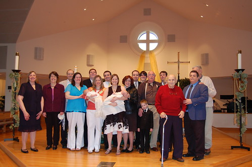 Christening - Whole Family