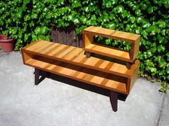 Multi purpose rack (L & S) (jamlab72) Tags: wood hand natural furniture craft made rack sumi