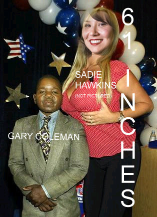 Governor wannabes Gary Coleman and Mary Carey, 8-27-03 copy