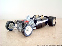 "Rat Rod ""The Reaper"" (Biczzz) Tags: rat lego reaper rod lugnuts ratrod moc comunidade0937"