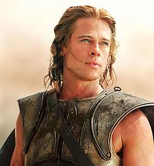Brad Pitt en Troya Aquiles