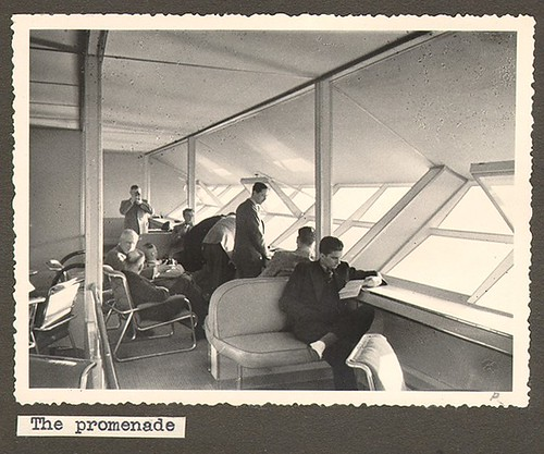 La sala de paseo del Hindenburg
