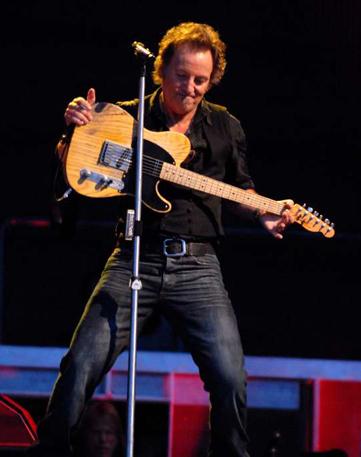 Bruce Springsteen por René Van Diemen guitarra
