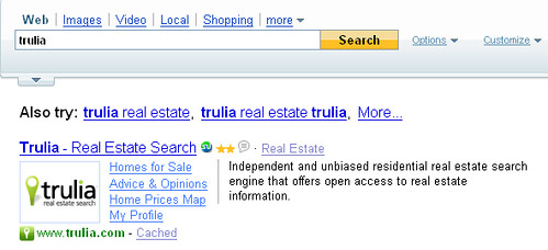 Trulia SearchMonkey